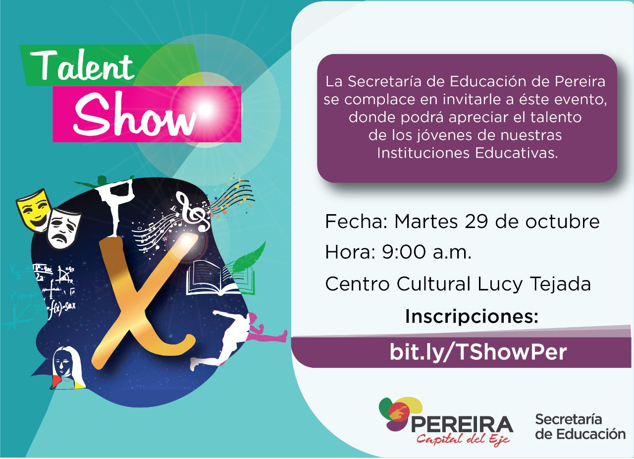 Invitación Talent Show